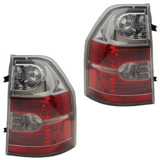2004 2005 2006 Acura MDX Taillight Taillamp Rear Brake Tail Light Lamp Pair Set Right Passenger AND Left Driver Side (04 05 06) Automotive