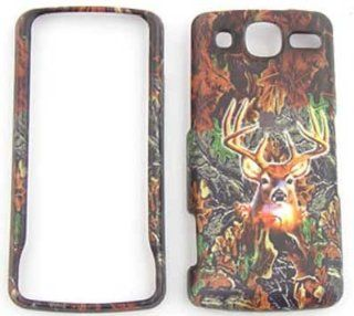 LG eXpo GW820 Camo / Camouflage Hunter Series, w/ Deer Hard Case/Cover/Faceplate/Snap On/Housing/Protector Cell Phones & Accessories