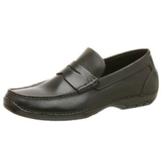 Rockport Men's Warrenton Loafer,Black,8.5 W Shoes