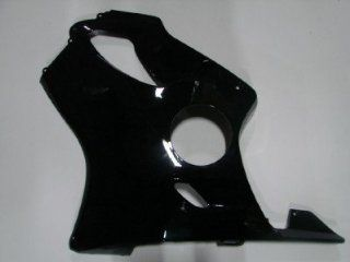 Black Left Lower Fairing Cowl for 2001 2006 Honda Cbr 600 F4i 01 02 03 04 05 06 Automotive