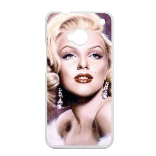 EVA Marilyn Monroe HTC ONE M7 Case, Marilyn Monroe Hard Plastic Protection Cover for HTC ONE M7 Cell Phones & Accessories