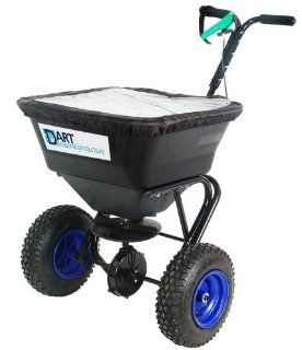 Dart Seasonal Products SR150 150 Pound Capacity Salt Spreader  Salt Spreaders Walk Behind  Patio, Lawn & Garden