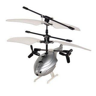Intelli Heli Full Function IR Helicopter w/3 Channel Remote Control (Gray) Toys & Games