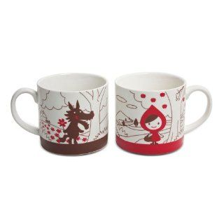 Decole Little Red Riding Hood Mug Set Couple Mugs Kitchen & Dining
