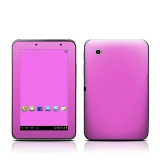 Solid State Vibrant Pink Design Protective Decal Skin Sticker for Samsung Galaxy Tab 2 (7 inch) GT P3113 Tablet Computers & Accessories