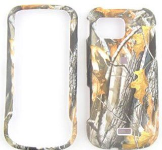 Samsung Mythic A897   Camo/Camouflage Hunter, w/ Big Branch   Hard Case/Cover/Faceplate/Snap On/Housing/Protector Cell Phones & Accessories
