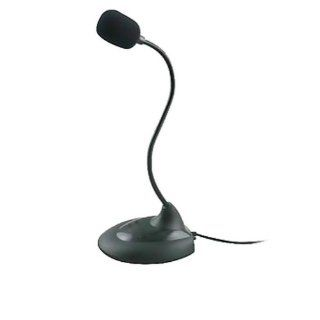 Ayangyang Fahion Mini Goose Neck High Sensitively Flexible Microphone with Switch for Loptop/ Desktop Computers & Accessories