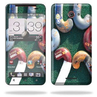MightySkins Protective Skin Decal Cover for HTC Droid DNA or HTC J Cell Phone Verizon Sticker Skins Field Hockey Cell Phones & Accessories