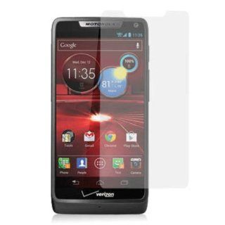 Decoro DSPMOTXT907 Premium Anti Glare Screen Protector for Motorola XT907/Droid RAZR   1 Pack   Retail Packaging   Clear Cell Phones & Accessories