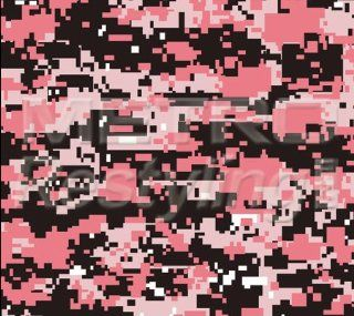 "Digital Pink Camouflage Vinyl Wrap Decal Adhesive Backed Sticker Film 48""x72"" Automotive"