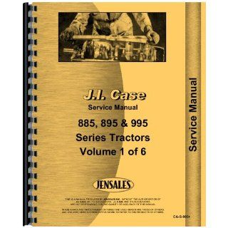 Case IH 885 Tractor Service Manual Jensales Ag Products Books