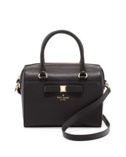holly street ashton satchel bag, black   kate spade new york