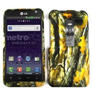 LG Esteem MS910 Camo / Camouflage Hunter Series, w/ Big Branch Hard Case/Cover/Faceplate/Snap On/Housing/Protector Cell Phones & Accessories