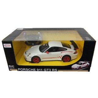 1/14 Scale Porsche 911 GT3 RS Radio Remote Control Car RC RTR White Toys & Games