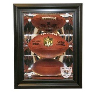 Oakland Raiders Football Shadow Box Display, Black  Sports Related Display Cases  Sports & Outdoors