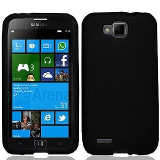 Black Soft Silicone Gel Skin Cover Case for Samsung ATIV S SGH T899 SGH T899M Cell Phones & Accessories