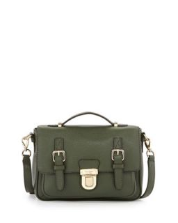 lola avenue lia crossbody satchel, loden   kate spade new york