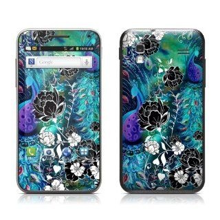 Peacock Garden Design Protective Skin Decal Sticker for Samsung Captivate Glide SGH i927 Cell Phone Cell Phones & Accessories
