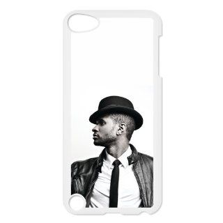CTSLR iPod Touch 5 Case   R&B Singer Series Anti Skid Protective Hard Back Plastic Case Cover for ipod Touch 5 5th Generation   1 Pack   Pop Star Uhser (18.55)   30 Cell Phones & Accessories