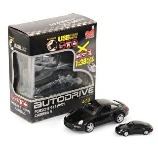 Porsche 911 Car Gift Box Set   138 Model Car + 4Gb USB Flash Drive   Black Computers & Accessories