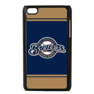Custom Milwaukee Brewers Cover Case for iPod Touch 4 4th IP 14170 Cell Phones & Accessories