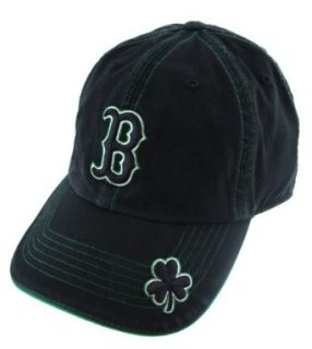 Boston Red Sox St Pat's Original Gangster Black Adjustable Hat/Cap Clothing