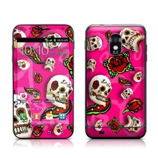 Pink Scatter Design Protective Skin Decal Sticker for Samsung Galaxy S II Epic Touch Cell Phone Cell Phones & Accessories