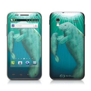 Eternal Serenity Design Protective Skin Decal Sticker for Samsung Captivate Glide SGH i927 Cell Phone Cell Phones & Accessories