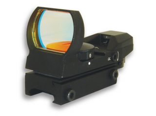 NcSTAR Red Dot Sight   Tactical Red Dot With 4 Different Reticles / Black D4B