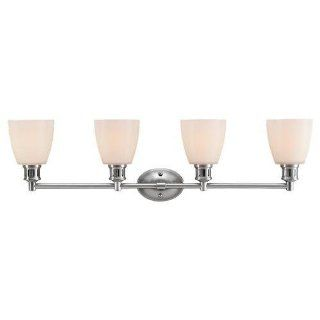 Sea Gull Lighting 44476 962 Century 4 Light Bathroom Vanity Light, Brushed Nickel   Vanity Lighting Fixtures