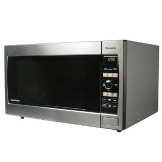 Panasonic NN SD967S 2.2 cuft, 1250 Watt Stainless Steel Microwave Oven, Inverter Technology Countertop Microwave Ovens Kitchen & Dining