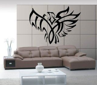 Eagle Flight Spread Wings American Symbol Animal Tribal Design Wall Mural Vinyl Decal Sticker M265   Wall Decor Stickers