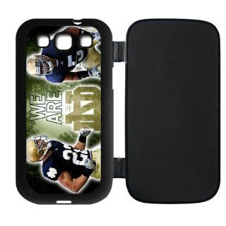 Notre Dame Fighting Irish Flip Case for Samsung Galaxy S3 I9300, I9308 and I939 sports3samsung F0093 Cell Phones & Accessories