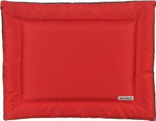 "Kakadu Pet All Seasons Mat Dog Bed, Fire (Red & Gray)   Medium, 30"" x 24"""