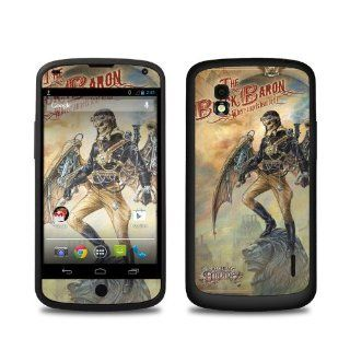 The Black Baron Design Protective Decal Skin Sticker (High Gloss Coating) for LG Nexus 4 E960 Cell Phone Cell Phones & Accessories