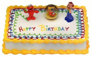 Sesame Street Elmo's World Party Cake Topper Set Toys & Games