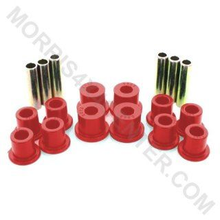 Energy Suspension Front or Rear Leaf Spring Bushing Set Red 1987 1995 Jeep Wrangler YJ # 22107R Automotive
