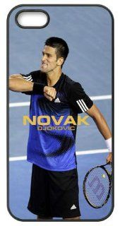Seller Online Unique Design World Tennis Star Novak Djokovic TPU Protection Cover For Iphone 5 Case Cell Phones & Accessories