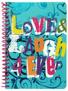 Uptown Girl Personal Wirebound Notebook, 100 Sheets, College Rule, 7 x 5 Inches, 1 Notebook, Cover Color May Vary (12252)