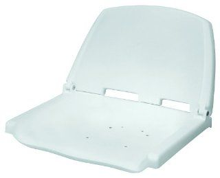 Wise Folding Plastic Boat Seat, White  Sports & Outdoors