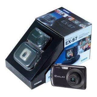 Casio EX S7 Black Gift Kit  Point And Shoot Digital Cameras  Camera & Photo