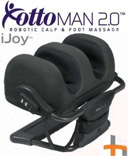 Shop Ijoy Ottoman 2.0 Human Touch Massager Calf and Foot Massage   HT 980 100 Black at the  Furniture Store