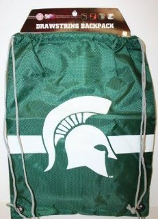 NCAA Michigan State Drawstring Backpack  Sports Fan Drawstring Bags  Sports & Outdoors