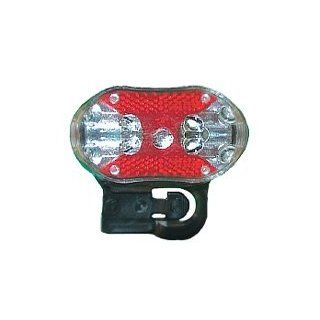7 function Safety Flashing LED Light for Bike or Belt   Basic Handheld Flashlights
