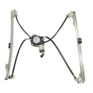 2001 2003 Dodge Caravan & Grand Caravan Front Power Window Regulator with Motor Passenger Side Automotive