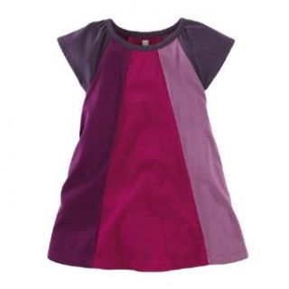 Tea Collection Baby girls Infant Mod Colorblock Dress, Acai, 18 24 Months Clothing