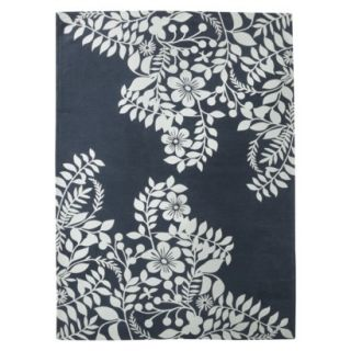 Room 365™ Placed Floral Area Rug   Navy Blue
