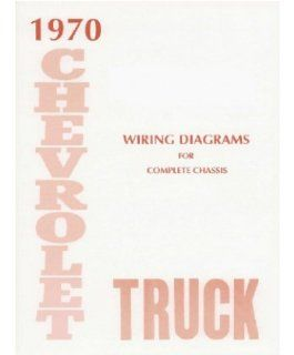 1970 Chevrolet Truck Electrical Wiring Diagrams Schematics Mechanic OEM Book Automotive