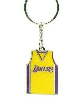 Los Angeles Lakers   NBA Home Away Team Jersey Key Chain  Sports Related Key Chains  Sports & Outdoors