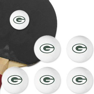 NFL Green Bay Packers 6 Pack Team Logo Table Tennis Balls  Sports Fan Wallets  Sports & Outdoors